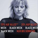 Black Week bei Tom Tailor – 20% auf alles – Nur bis Sonntag