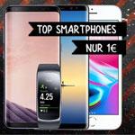 Black Friday Megadeals bei tophandy.de – Sicher dir jetzt Top Smartphones für 1€