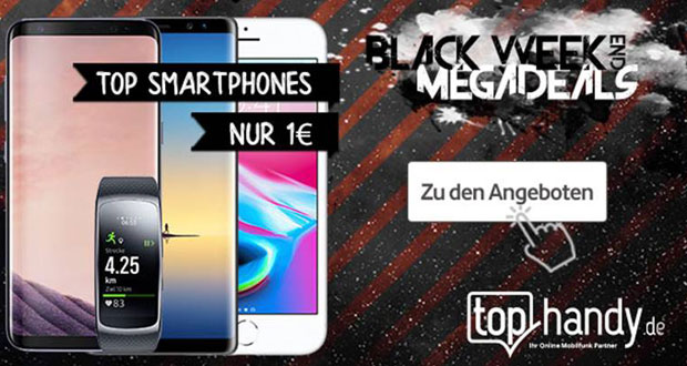 tophandy.de Black Weekend Megadeals 2017