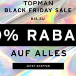 Black Friday Sale bei Topman – Bis zu 50% Rabatt auf alles!