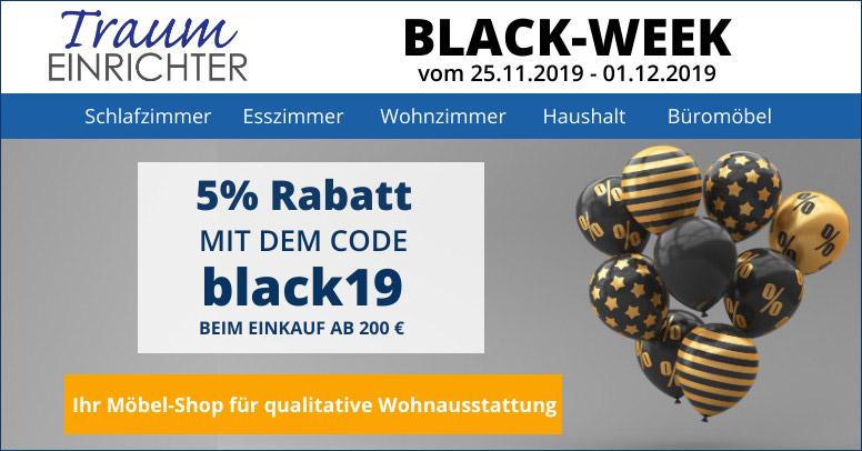 Traumeinrichter Black Week 2019