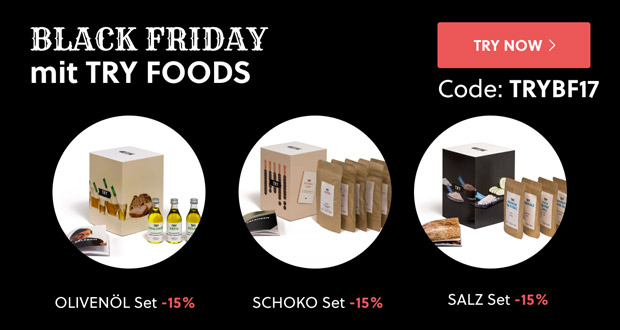 Try Foods Black Friday 2017