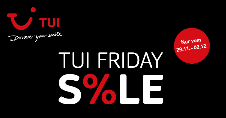 TUI Black Friday 2019