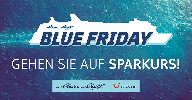 TUI Cruises Mein Schiff Black Friday 2020