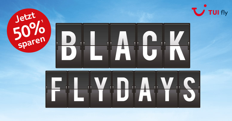 TUI fly Black Friday 2019