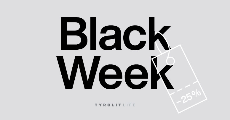 Tyrolit life Black Friday 2020