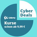 Lerne echte Skills mit den Cyber Deals von Udemy – Online-Videokurse schon ab 9,99 EURO