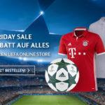 Da schlägt das Fußballerherz höher – 20% Rabatt auf das gesamte Sortiment im UEFA Online Store