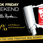 Black Friday Weekend bei Ulla Popken – 20% auf Pullover und Strickwaren!