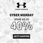 Cyber Monday bei Under Armour – Bis zu 40% Rabatt auf der ganzen Seite