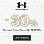 Game Time: 30% Rabatt auf alles bei Under Armour!
