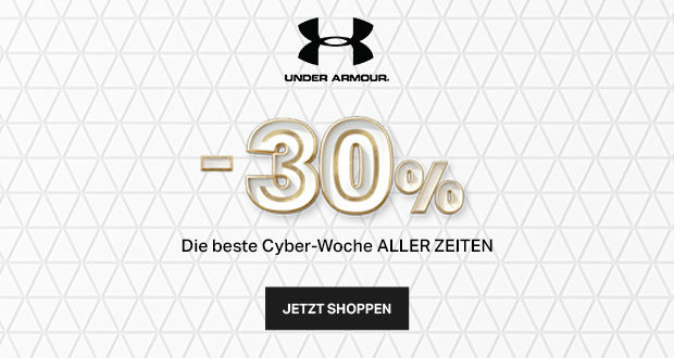 Under Armour Cyber Woche 2017