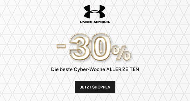 Under Armour Cyber Woche 2017