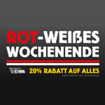 Rot-Weißen Wochenende beim 1. FC Union Berlin mit 20% Rabatt auf zahlreiches Merchandise