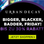 Bis zu 30 Prozent Rabatt auf Beauty Produkte bei Urban Decay!