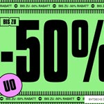Bis zu 50% Rabatt und mehr mit den Black Friday Deals bei Urban Outfitters