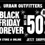 Ein ganzes Wochenende bis zu 50% Rabatt auf deine Weihnachtseinkäufe bei Urban Outfitters sichern.