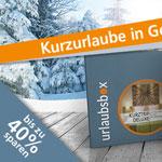Urlaubsbox – Kurztrip für 2 in einer Geschenkbox – bis zu 40% Rabatt auf ausgewählte Produkte!