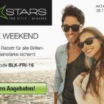 Black Weekend bei UV Stars – 11,- € Rabatt auf Standard- und Premium-Gläser mit Sehstärke