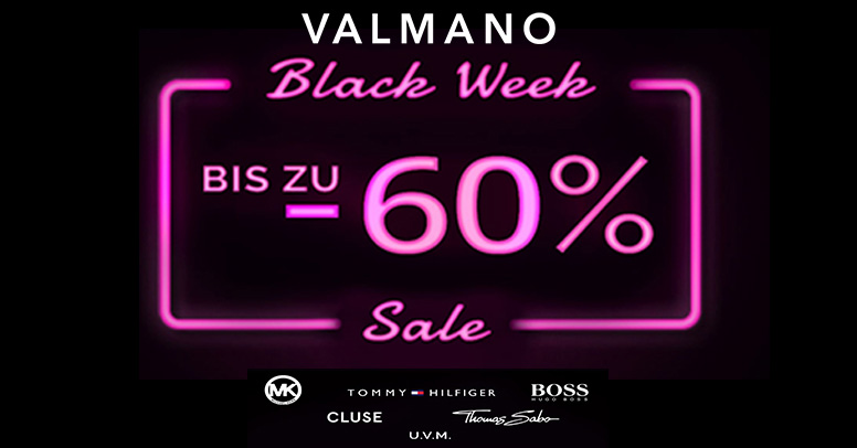 Valmano Black Friday 2020