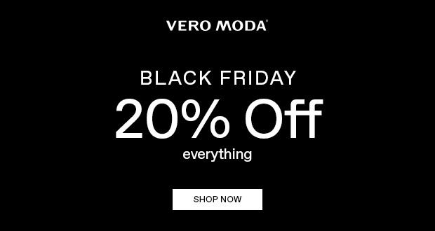 Vero Moda Black Friday 2018
