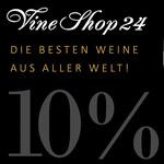 Sicher dir jetzt die besten Weine aus aller Welt im Vineshop24 und spare 10% auf das gesamte Sortiment