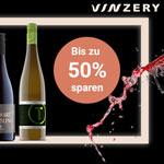 Spare jetzt bis zu 50% mit den Black Wine Weeks bei Vinzery