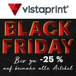 Vistaprint Black Friday: Spare bis zu 25% auf fast alle Artikel