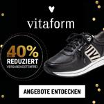 Black Friday bei VITAFORM – Bis zu 40% Rabatt auf Schuhe