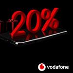 20% Rabatt in der Black Week auf alle Vodafone Red und Young Tarife!