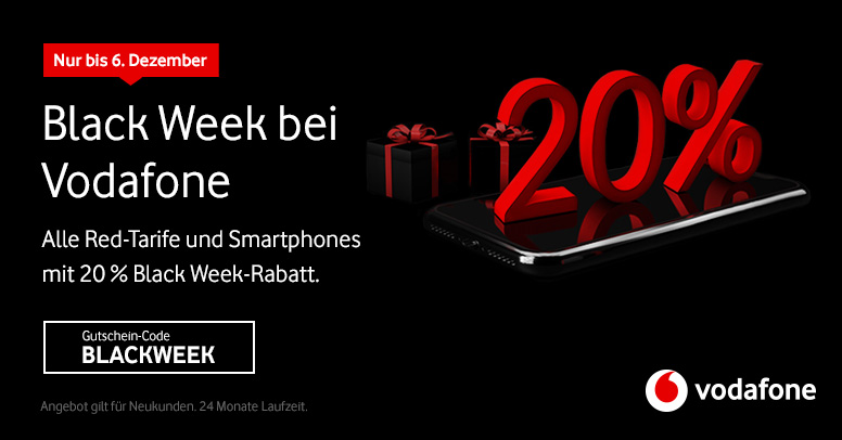 Vodafone Black Week 2020