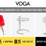 Fantastische 55% Rabatt auf das komplette Sortiment von VOGA!