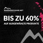 Black Friday Sale bei Wanderschuhe.net – Bis zu 60% Rabatt auf ausgewählte Produkte für Damen, Herren oder Kinder
