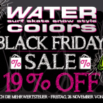 19% Rabatt auf schon reduzierte Waren von Water Colors!