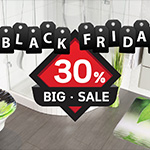 Bis zu 30% Rabatt beim Black Friday Big Sale im WCShop24