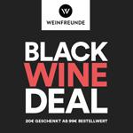 Zahle 20 EURO weniger mit dem Black Wine Deal von Weinfreunde