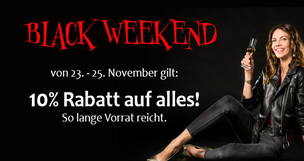 Weisshaus Black Friday 2018