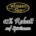 Black Friday Special im Weisshaus-Shop – Sicher dir nur heute 10% auf Spirituosen