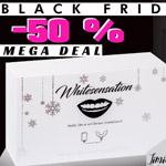 Sicher dir nur heute am Black Friday 50% Rabatt auf alles bei Whitesensation