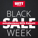 Black Sale Week bei Witt Weiden: Spare bis zu 60% auf ausgewählte Mode & Wäsche
