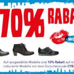 Bis zu 70% Rabatt auf ausgewählte Modelle beim Düsseldorfer Wolkyshop