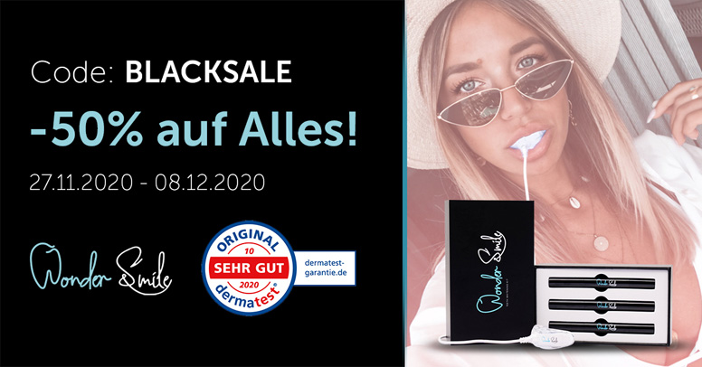 WonderSmile Black Friday 2020