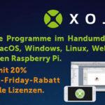 Programmierer aufgepasst – Noch bis zum Cyber Mondayv sind alle Xojo-Lizenzen 20% rabattiert