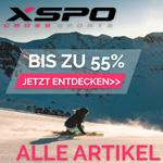 Cyber Weekend Deals bei XSPO mit bis zu 55% Rabatt auf das gesamte Sortiment im Shop