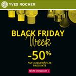 Black Friday Week bei Yves Rocher – Bis zu 50% Rabatt auf ausgewählte Produkte