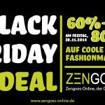 60% – 80% Rabatt auf tolle Fashionmarken im Online Outletshop von Zengoes!