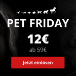 Black Friday bei Zooroyal – Spare jetzt 12€ bei deinem Einkauf!