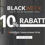 Jetzt zuschlagen und sparen – 10% Rabatt auf alles mit den Black Week Angeboten von zuhause-24
