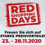 Sicher dir jetzt 40% Möbel-Rabatt und mehr mit den Red Shopping Days bei Zurbrüggen