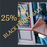 25% Black-Friday-Rabatt im Ledertaschen Shop von Zweisser